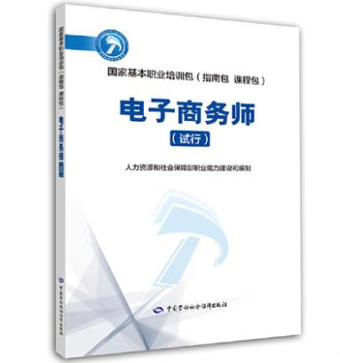 国家基本职业培训包(指南包 课程包):电子商务师(试行)