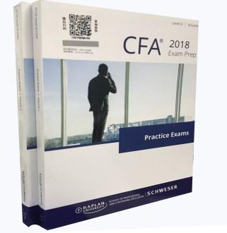 2018 LevelⅢ Volume1+Volume2 CFA Exam Prep・Practice Exams