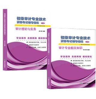 初级审计专业技术资格考试辅导精练(上下册)(共2本)